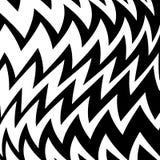 Geometrischer einfacher Zickzack-Druck, Wellen-Muster vektor abbildung