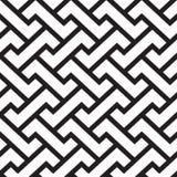 Geometrischer gesponnener Mesh Vector Pattern Design lizenzfreie abbildung