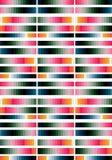 Geometrischer gestreifter Hintergrund Lizenzfreie Stockbilder