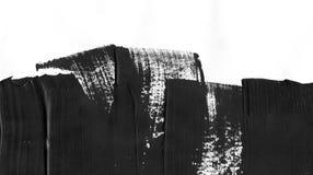 Geometrischer Graffitizusammenfassungshintergrund Tapete mit Ölaquarelleffekt Schwarze Acrylfarben-Anschlagbeschaffenheit an Stockfotografie