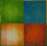 Geometrischer grunge Hintergrund Stockbilder