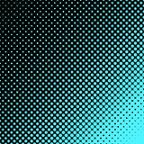Geometrischer Halbtonpunktmusterhintergrund - vector Grafikdesign von den Kreisen Lizenzfreie Stockbilder