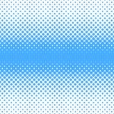 Geometrischer Halbtonpunktmusterhintergrund - vector Grafikdesign von den Kreisen in unterschiedlichen Größen Stockfoto