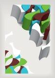 Geometrischer Hintergrund Vektor Abbildung