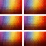 Geometrischer Hintergrund Lizenzfreie Stockfotos