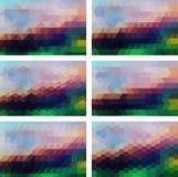 Geometrischer Hintergrund Lizenzfreie Stockfotografie