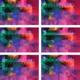 Geometrischer Hintergrund Stockbilder