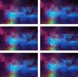 Geometrischer Hintergrund Lizenzfreies Stockfoto