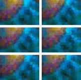 Geometrischer Hintergrund Stockbild