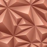 Geometrischer Hintergrund Browns. Lizenzfreies Stockbild