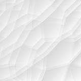 Geometrischer Hintergrund der abstrakten weißen Beschaffenheit Stock Abbildung