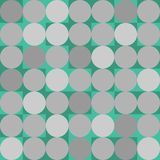 Geometrischer Hintergrund in der Hippie-Art stock abbildung