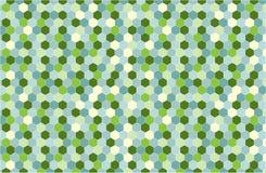 Geometrischer Hintergrund in der Hippie-Farbart Stockfotos