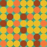 Geometrischer Hintergrund in der Hippie-Farbart Stockfoto