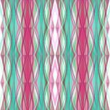 Geometrischer Hintergrund der nahtlosen abstrakten Musterverzierung Stockbilder