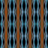 Geometrischer Hintergrund der nahtlosen abstrakten Musterverzierung Stockfotos