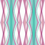Geometrischer Hintergrund der nahtlosen abstrakten Musterverzierung Lizenzfreies Stockfoto
