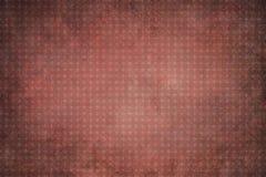 Geometrischer Hintergrund der roten Weinlese mit Kreisen Stockfoto