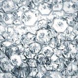 Geometrischer Hintergrund des abstrakten Diamanten Lizenzfreie Stockfotos
