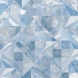 Geometrischer Hintergrund des abstrakten Eises Stockbild