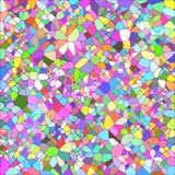 Geometrischer Hintergrund des Herbstes Lizenzfreies Stockfoto