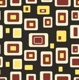 Geometrischer Hintergrund des nahtlosen Musters stock abbildung
