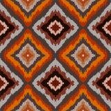 Geometrischer Hintergrund des Pixels Muster-Vektorillustration des Retrostils in der nahtlosen vektor abbildung