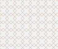 Geometrischer Hintergrund mit Raute und Knoten Stockfotos