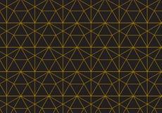 Geometrischer Hintergrund mit Raute und Knoten Abstraktes geometrisches Stockbilder