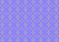 Geometrischer Hintergrund mit Raute und Knoten Abstraktes Muster Lizenzfreie Stockfotos
