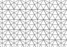 Geometrischer Hintergrund mit Raute und Knoten Schwarzweiss--tex Lizenzfreie Stockbilder