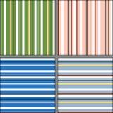 Geometrischer Hintergrund mit Streifen Lizenzfreie Stockfotografie