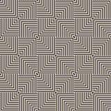 Geometrischer Hintergrund nahtlos Lizenzfreies Stockfoto