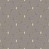 Geometrischer Hintergrund nahtlos Lizenzfreie Stockfotografie