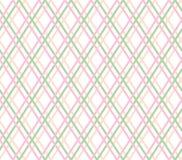 Geometrischer Hintergrund, nahtlose, dünne rosa Linien, Diamanten, Vektor stock abbildung