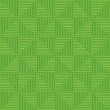 Geometrischer Hintergrund von grünen Dreiecken Nahtloses Muster der Dreiecke Lizenzfreies Stockfoto