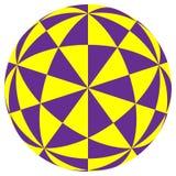Geometrischer Illusionhintergrund Lizenzfreie Stockfotos