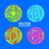 Geometrischer Logo Template Lizenzfreie Stockfotos