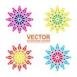 Geometrischer Logoschablonensatz Stockfoto