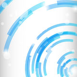 Geometrischer moderner Hintergrund des Kreises Lizenzfreies Stockbild