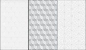 Geometrischer moderner nahtloser Mustervektorhintergrund Lizenzfreies Stockfoto