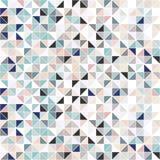 Geometrischer Mosaikhintergrund - nahtlos Stockbild