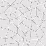 Geometrischer Mosaikhintergrund, schließen Linien an Auch im corel abgehobenen Betrag vektor abbildung