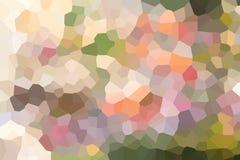 Geometrischer mosiac Mehrfarbenhintergrund, Illustrationskunst-Entwurfshintergrund stock abbildung