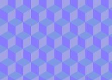 Geometrischer Musterhintergrund, Illustrationsvektor Lizenzfreie Abbildung