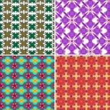 Geometrischer Mustervektor Stockfoto