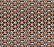 Geometrischer nahtloser Hintergrund des Aluminiums und des Fassbinders kopieren v 2 vektor abbildung