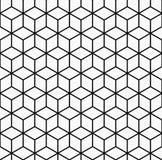 Geometrischer nahtloser Muster-Vektor Lizenzfreies Stockfoto