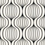 Geometrischer nahtloser Muster-Vektor Lizenzfreie Stockfotografie