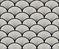 Geometrischer nahtloser Muster-Vektor Stockbild